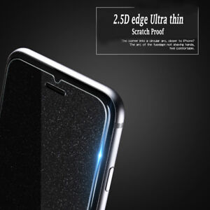 reputable site e2dcc 480f7 Details about For iPhone X/7/8/6 Plus Diamond Glitter Tempered Glass Screen  Protector Film AA