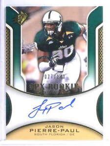 2010-Upper-Deck-SPx-Jason-Pierre-Paul-Autograph-Auto-Rookie-RC-D077-140-74952