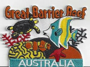 GREAT BARRIER REEF  IRONON PATCH BUY 2 of these GET 1 of these FREE = 3