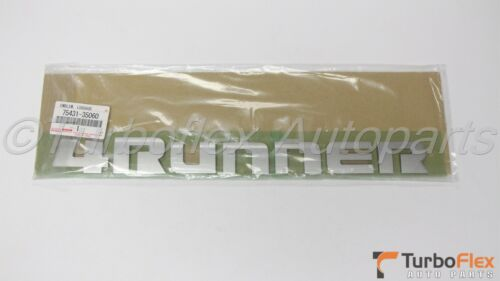 Toyota 4Runner Limited  2010-2017 4Runner Genuine Rear Trunk Emblem  75431-35060
