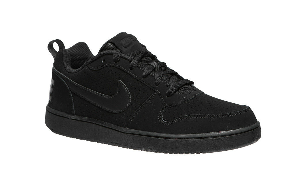 a97b230cd Nike court court court Borough Black 838937-001 Leather Shoes Men 192d9b