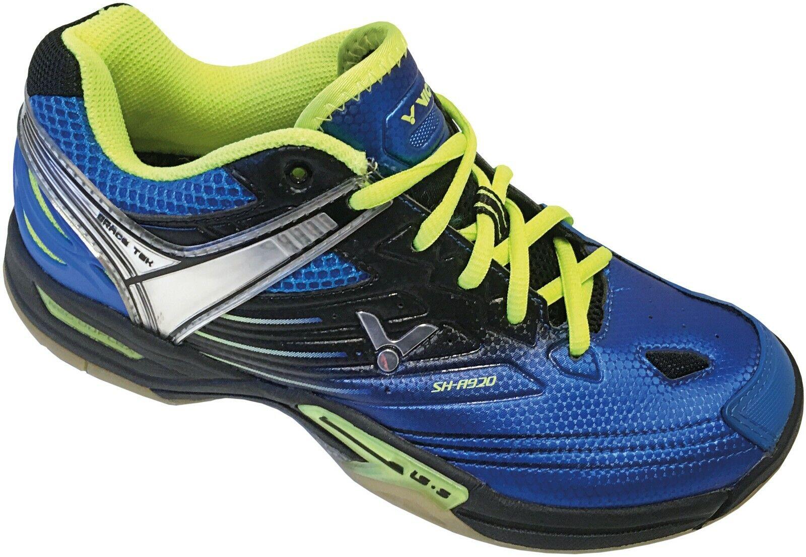 NIEUW Victor SH-A920 Indoir Court schoenen in blauw Lime