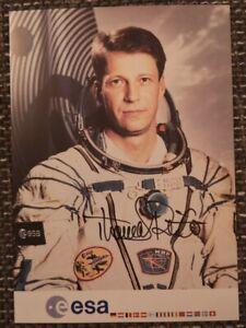 Thomas Reiter original signierte Autogrammkarte,autograph,Astronaut, Mir, Esa