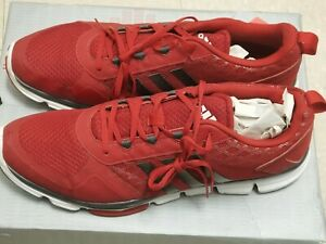 Bright Red Adidas Athletic Shoes 18