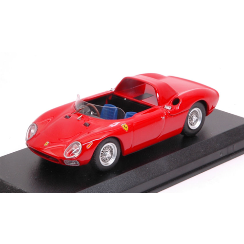 FERRARI 250 LM SPYDER 1965 PROVA rosso 1:43