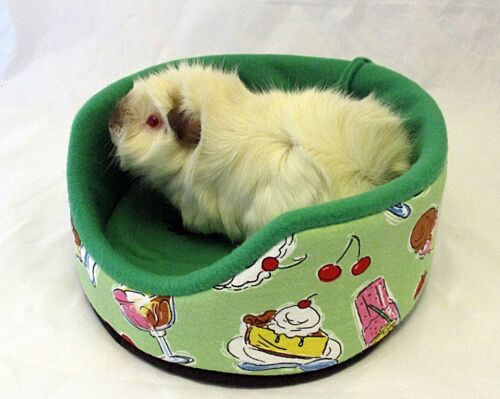 Custom made Cuddle Cup bed for small pets guinea pigs rats hedgehogs  (larger)