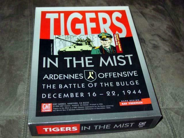 GMT   TIGERS in the MIST  Ardennes Offensive - Battle of the Bulge  1999 (PUN)