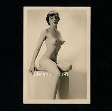 #416 RÖSSLER AKTFOTO / NUDE WOMAN STUDY * Vintage 1950s Studio Photo - no PC !
