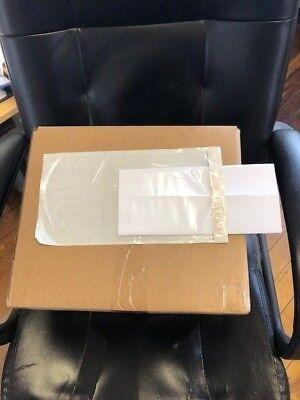 "Clear 45 count 5 1⁄2 x 10/"" U-Line Side Loading Packing List Envelopes"