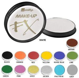 Deguisement Halloween Peinture Visage Maquillage 15 Couleurs 16g Pot Par Ebay
