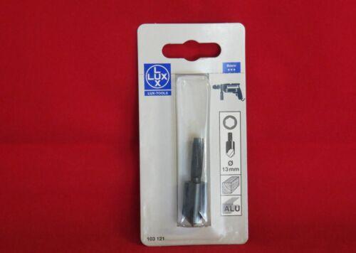 Lux Senker 13mm mit 6 Kant Schaft Holz und Aluminium  1000-391-A