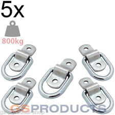 5x 800kgs Heavy Duty Tie Down Lashing Ring & Plate Anchor Trailer Points