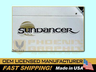 SUNDANCER Sea Ray Boat Decal Graphic Sticker 1756554 1756555