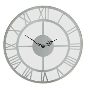 Round-Glass-Wall-Clock-with-Mirror-Roman-Numerals-35-cm-13-8-in