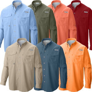 New-Mens-Columbia-PFG-034-Bahama-II-034-Omni-Shade-Vented-Fishing-Shirt