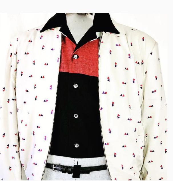 Vintage 1940s-50'S Rockabilly Ricky Jacket Atomic… - image 3