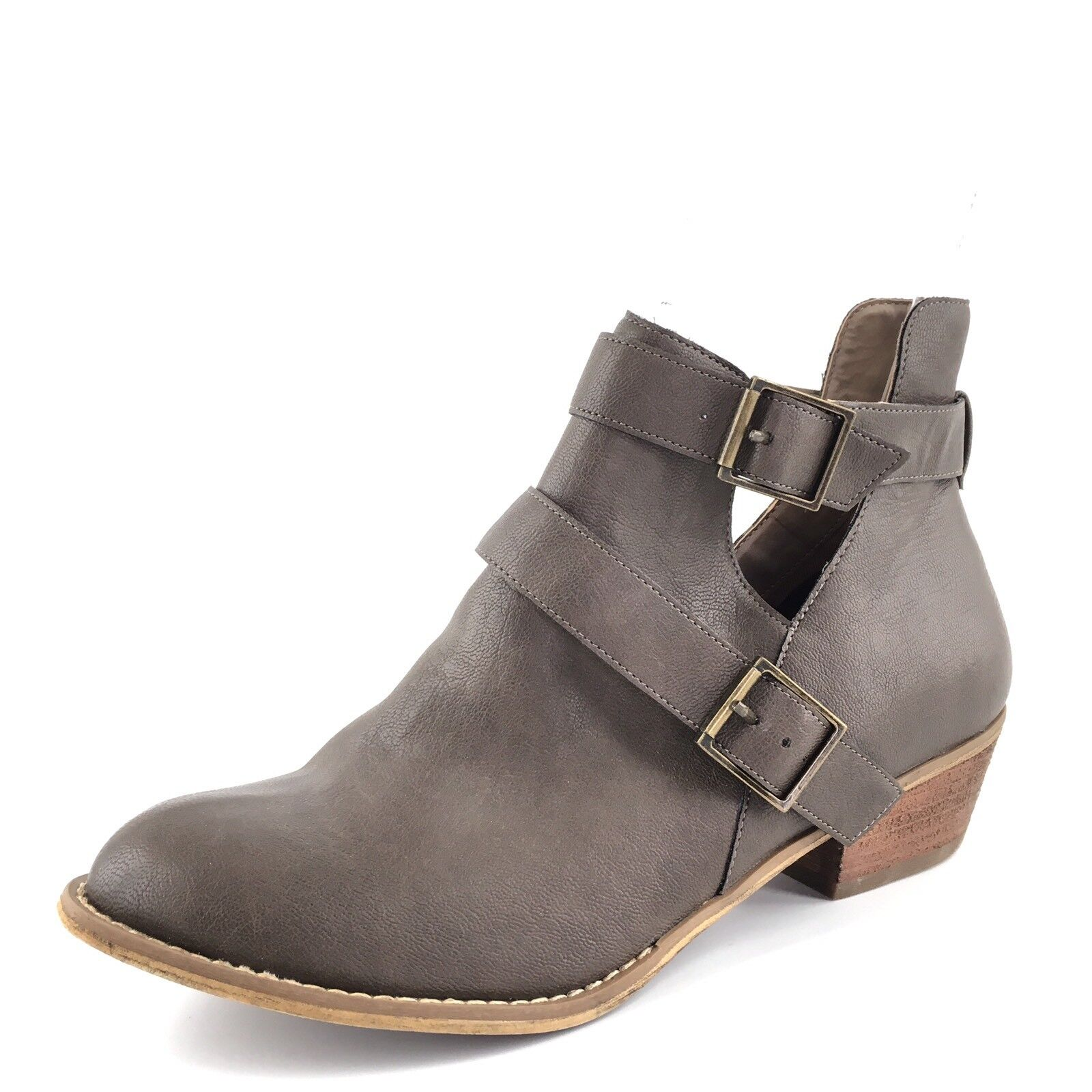 e3aa6e0b602bac Abound Pepper Rounded Gray Rounded Pepper Toe Ankle Boots Women  s Size 9 M  ...