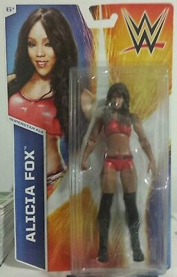 WWE Alicia Fox  wrestling figure Diva Mattel Basic new//sealed