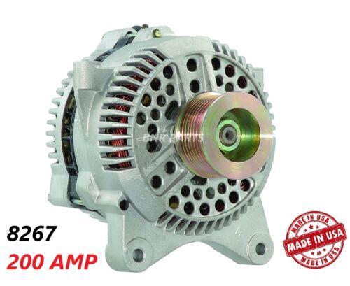 200 AMP 8267 Alternator Lincoln Navigator Blackwood High Output HD Performance