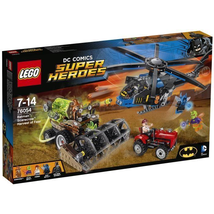 LEGO Super Heroes- DC - 76054 Batman   La Récolte de Peur de l'Épouvantail