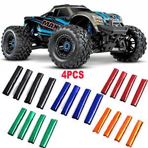 4PC-RC-Coche-Amortiguador-Amortiguador-Cubierta-para-1-10-Traxxas-89076-4-Maxx-4WD-camion-X