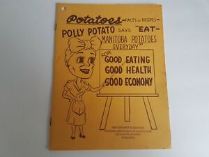 Manitoba-Dept-of-Agriculture-Booklet-Polly-Potato-Recipes-and-Facts
