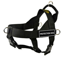 Dean-amp-Tyler-DT-Universal-No-Pull-Nylon-Dog-Harness-with-Patches-Stop-Pulling