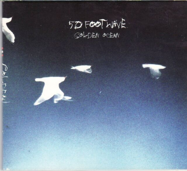 50 / Fifty Foot Wave ' Golden Ocean '  CD album, fold-out digipack, 2005 on 4AD