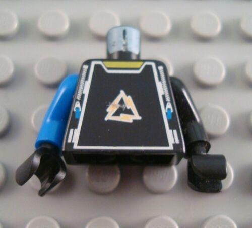 LEGO Black Alpha Team Dash Torso Minifigure Body Part