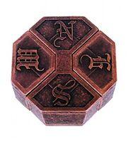News Hanayama Cast Metal Brain Teaser Puzzle (level 6), New, Free Shipping on sale