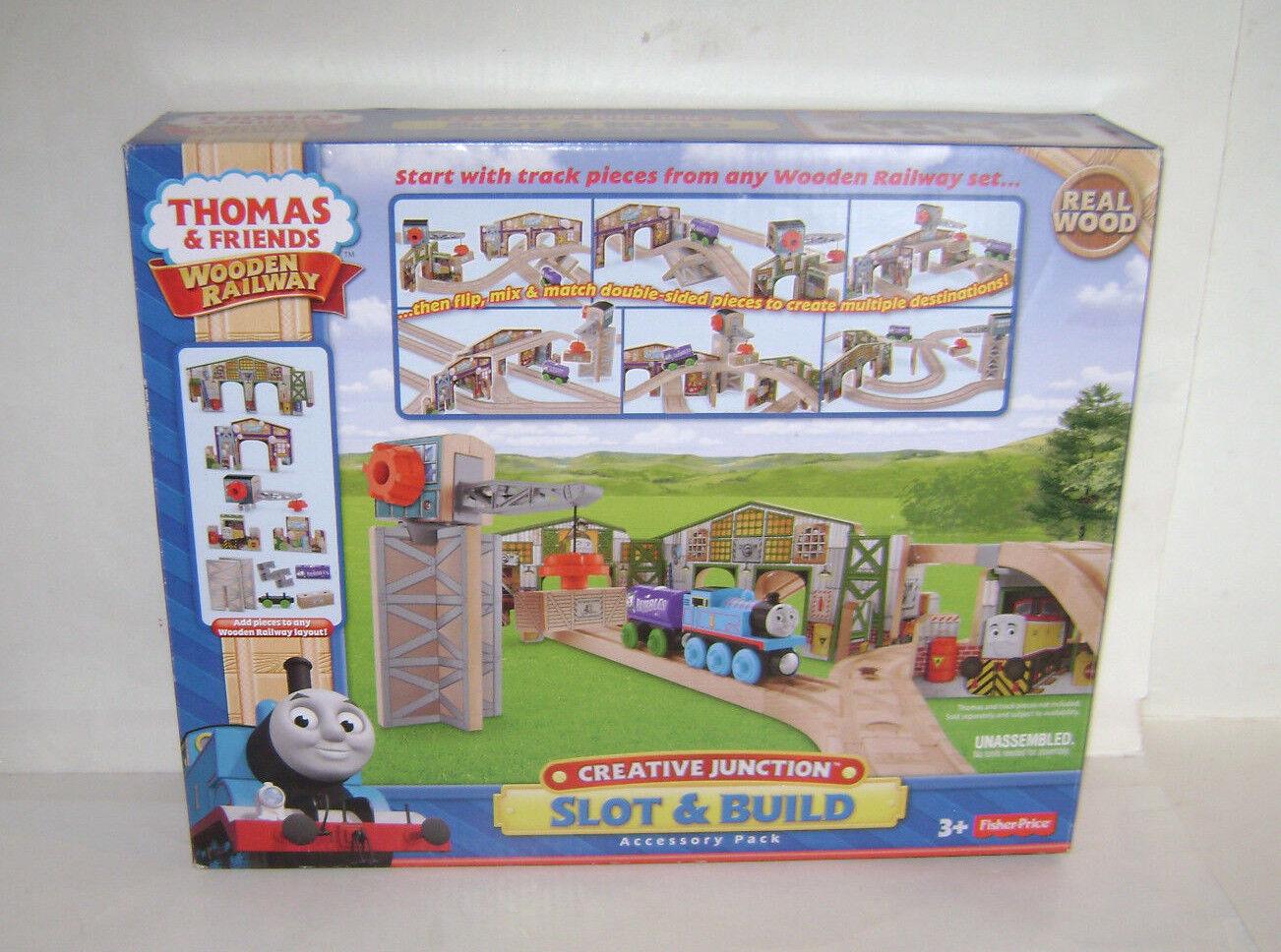 NYA Fisher Price Thomas och vänner träen järnvägway CreATIVE JUNCATION UTFÖRD