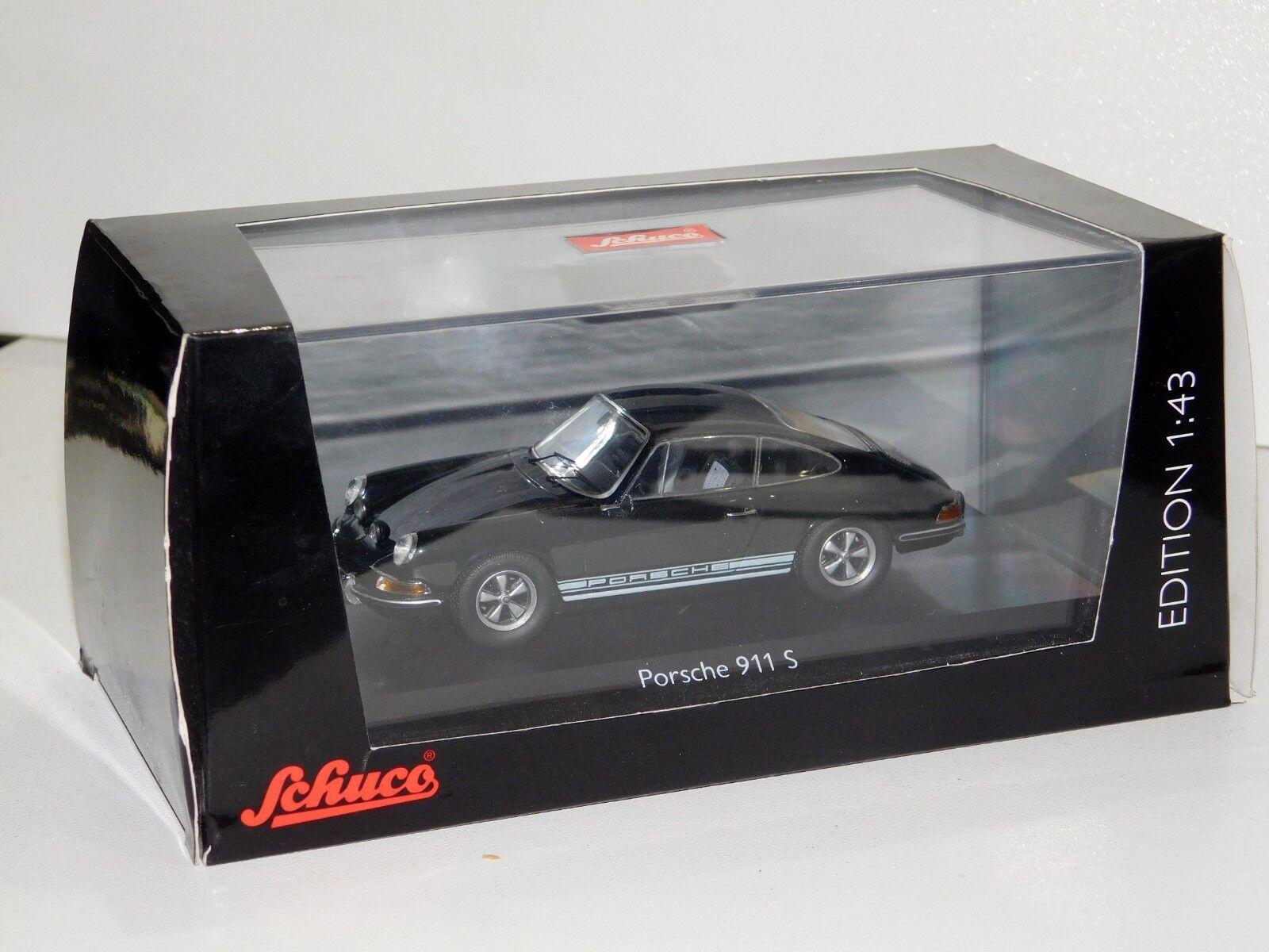 Porsche Noir SCHUCO 450363500 1 43 S 911 nnoqev5031-Jouets fournitures