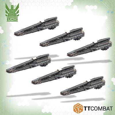 Dropfleet Commander BNIB PHR Harpocrates Guerrilla Lighters TTDFR-PHR-006