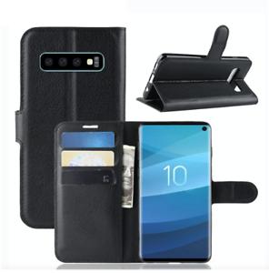 Luxus-Ultra-Slim-PU-Leder-Book-Case-fuer-Samsung-Galaxy-s10