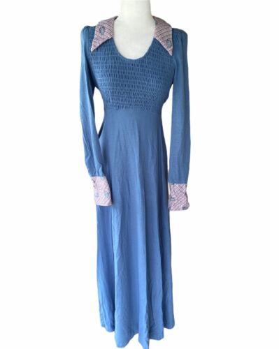 Women's Vtg Jody T Of California Maxi Dress Small