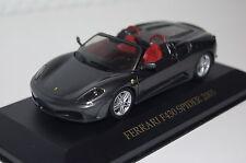 FERRARI f430 SPIDER 2005 GRIGIO METALLIZZATO Ixo Nuovo & Ovp fer019