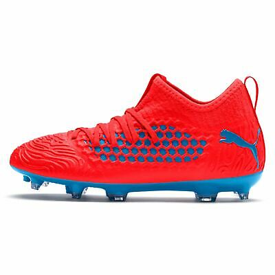 Puma Future 19.3 Childrens Fg Football Boots Firm Ground Lightweight Studs Knit Exquise (On) Vakmanschap