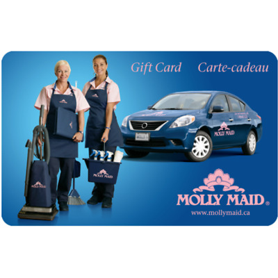 Molly Maid International Gift Card $25, $50, or $100 - Email Delivery