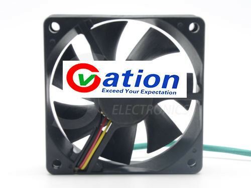 Sunon GM1207PKVX-A 7CM 70mm 7020 12V 0.23A 3WIRE projector axial Cooling fan