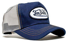 VON van DUTCH MESH TRUCKER CAP [CLASSIC NAVY/GRAY] HUT KAPPE MÜTZE BASE BASECAP