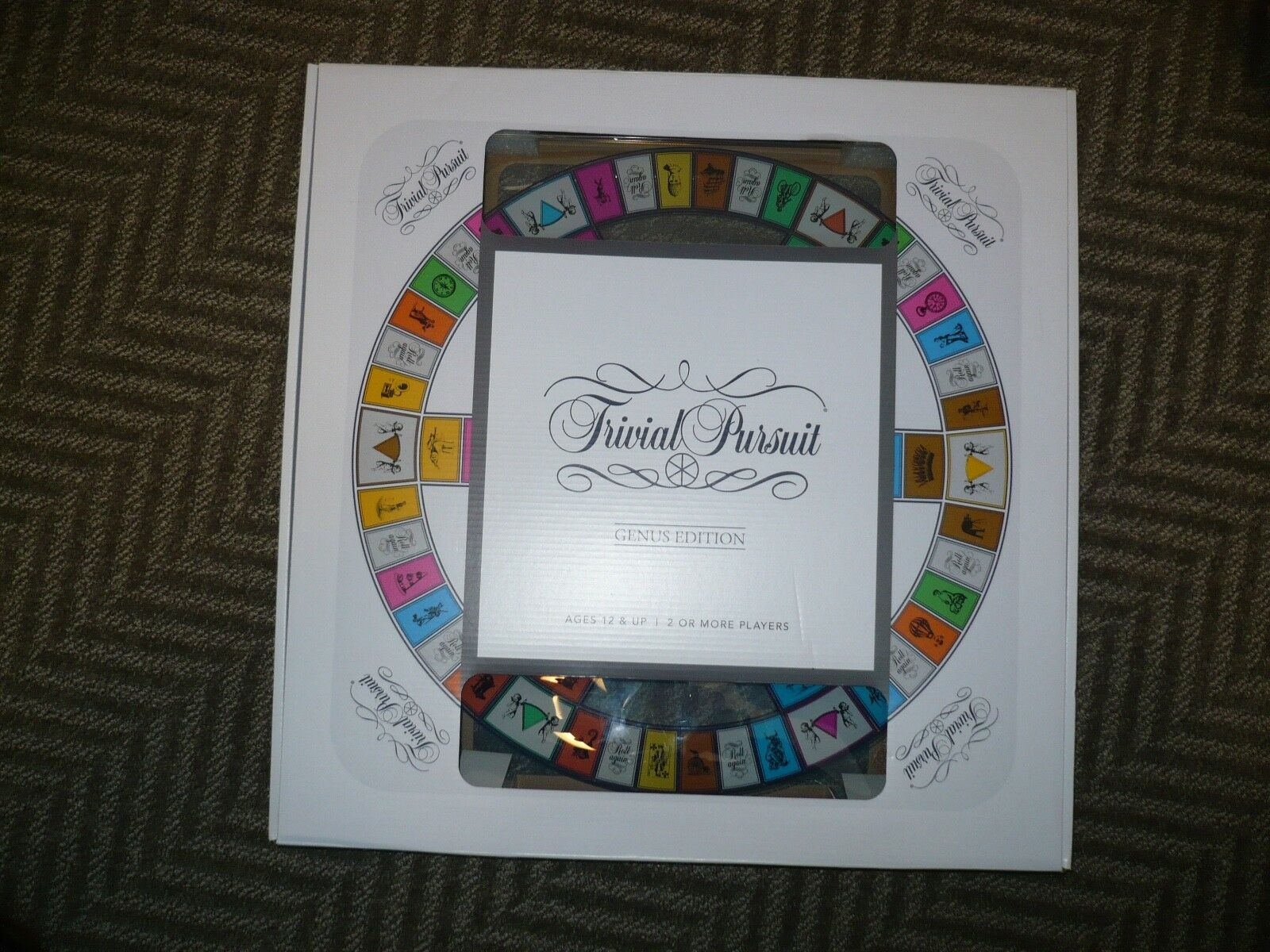 Trivial Pursuit Deluxe TempeROT Glass Genus Edition Brand New Unopened