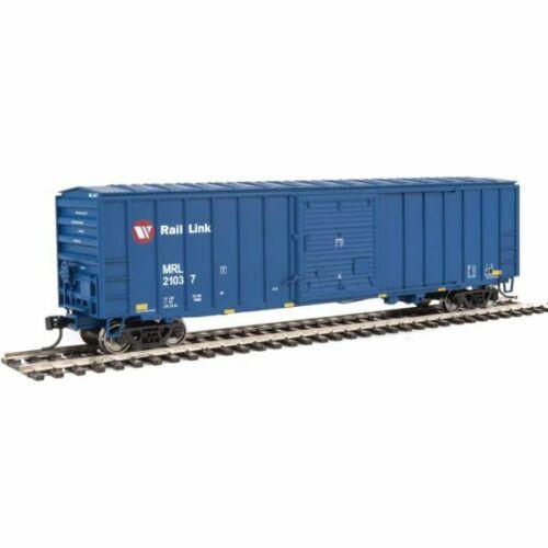 Walthers 910-2186 50/' ACF Exterior Post Boxcar Montana Rail Link 21037 HO...