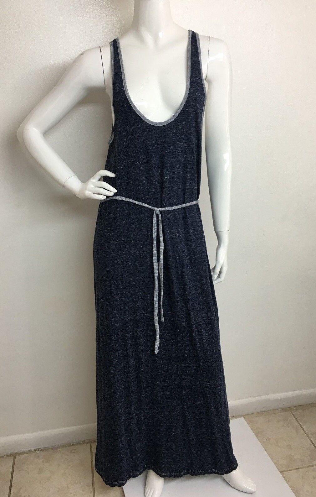 SOFT soft . joie New Women's Dark Indigo Round N Sleeveless Printed Dress M NWT