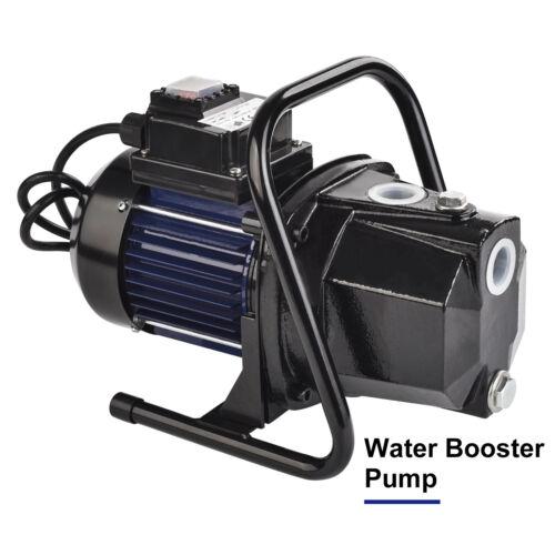 """1200W 1/"""" Shallow Well Water Booster Pump Home Garden Irrigation 1000GPH"""
