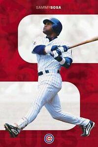 New-Costacos-MLB-Chicago-Cubs-Sammy-Sosa-Baseball-Wall-Poster-22-5-x-35