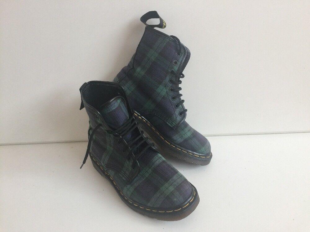 Da Donna Dr Vintage Tarten tessile Dr Donna Martens in boots Uk5 EU38 Made in ... 92c264