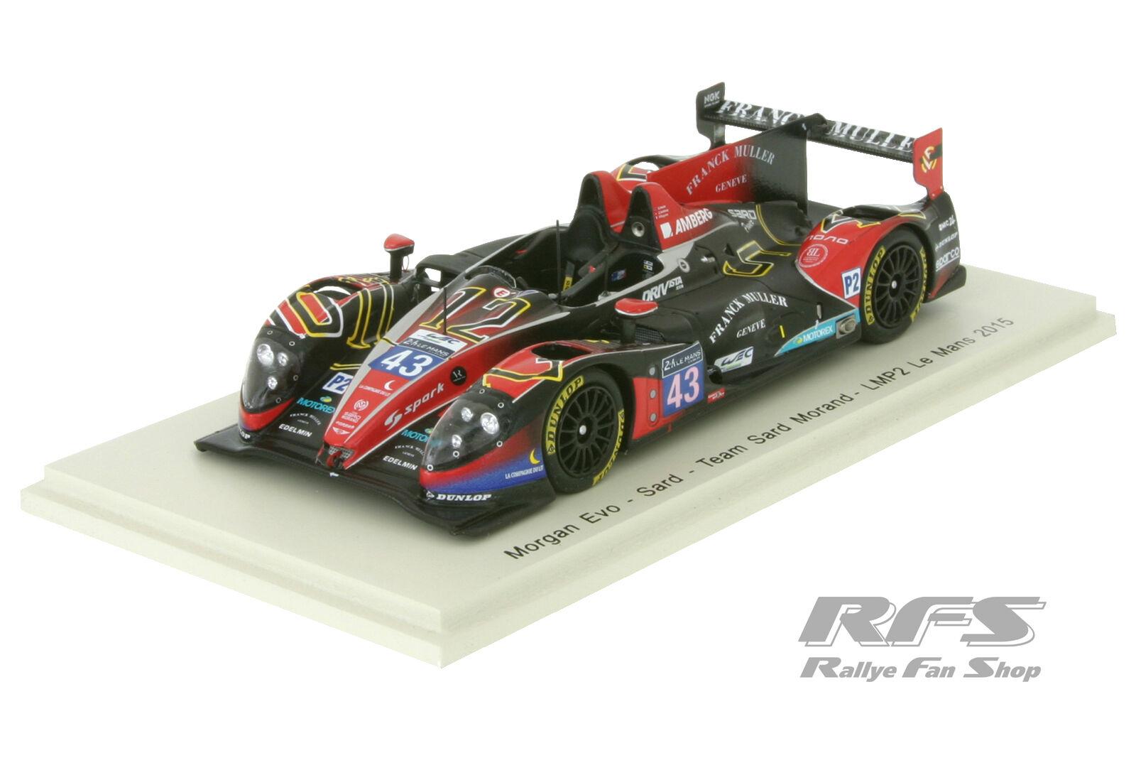 Morgan lmp2 EVO sard - 24h Le Mans 2015-équipe sard-Morand - 1 43 spark 4657