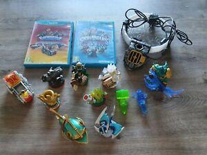 2 Jeux Skylanders trap team + superchargers sur Wii U avec 11 figurines