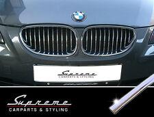 BMW  5er E60 Touring E61- 3M Chrom-Zierleisten-Set für den Kühlergrill, Nieren
