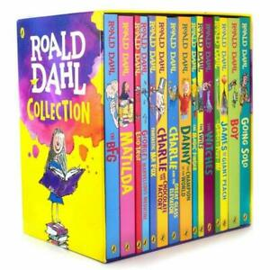 Roald-Dahl-15-Books-Box-Set-Collection-Matilda-Going-Solo